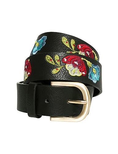 Desigual Cint_embroidered Belt Caribou, Cinturón para Mujer