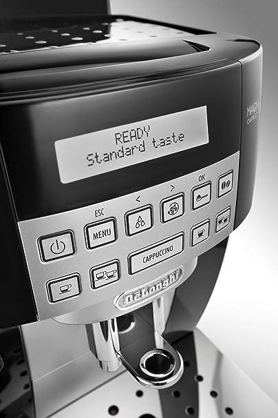 Delonghi Ecam 22.360.B limpieza autom/ática negro Cafetera superautom/ática capacidad 1,8l 15 bar de presi/ón pantalla lcd