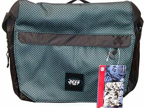 NFL Sport Messenger Bag, ''New York Jets'' NEW by THE SACK