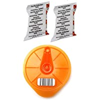 Aqualogis Service T-Disc y 2 pastillas descalcificadoras compatibles con Tassimo Bosch 576837,624088, 17001491, Caddy…