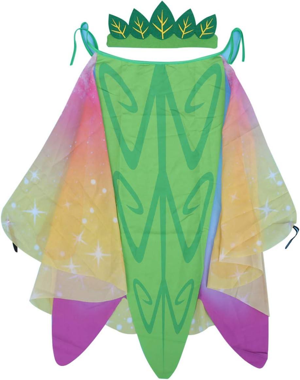 Amosfun - Capa de Disfraz de Mariposa, alas, Insectos, Chal, NINFA ...