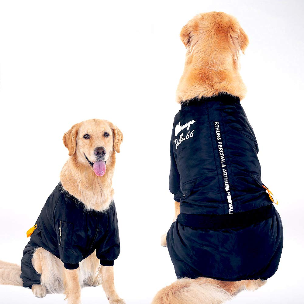 Black 3XL Black 3XL 4 Legs Cotton Puppy Hoodies, Puppy Hoodies Pet Clothes Dog in Spring and Autumn,for Small to Medium & Large Dogs Cats Pet Clothes,Coat,Costumes,Black,3XL