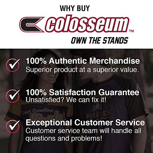 Colosseum NCAA Adult Soft Vintage Tailgate T-Shirt - Multiple Teams,