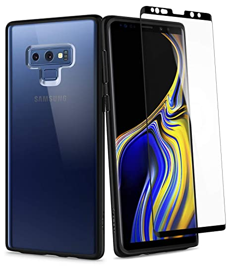 best cheap 8d3e7 77c75 Spigen Ultra Hybrid 360 Galaxy Note 9 Case with 360 Full Body Coverage  Protection with Tempered Glass Screen Protector for Samsung Galaxy Note 9  ...