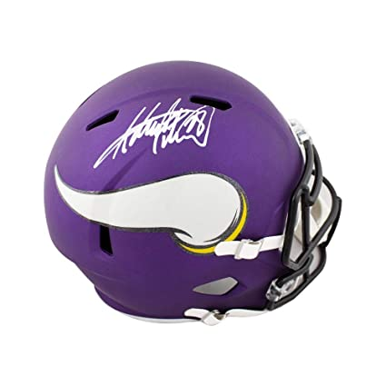 f0aba176 Amazon.com: Adrian Peterson Autographed Vikings Speed Full-Size ...