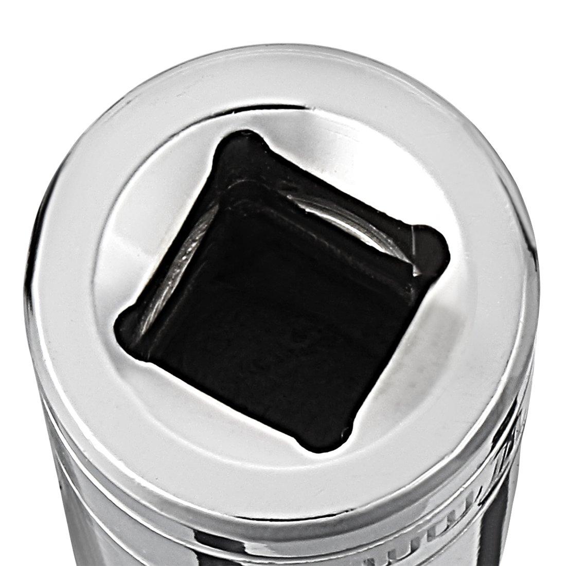 VictorsHome 1//4 Inch Drive 6 Point Shallow Socket 10mm Metric Cr-V 4 Pack