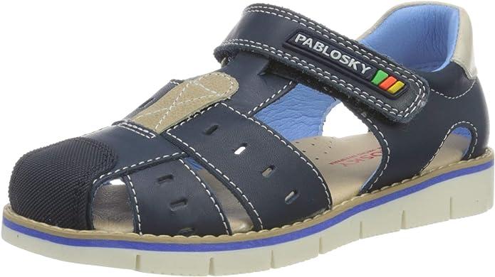 Pablosky 079822 Sandalias 27 EU Beb/é-ni/ños Azul 9 Infantil UK Azul 079822