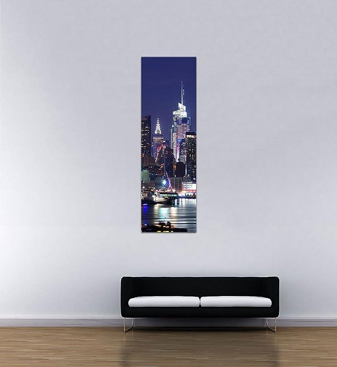 Bilderdepot24 Cuadros en Lienzo New York III - 60 x 180 cm 3 ...