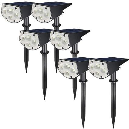 Solar Spotlights 20 LED Landscape Garden Yard Wall Lamp Lights Waterproof
