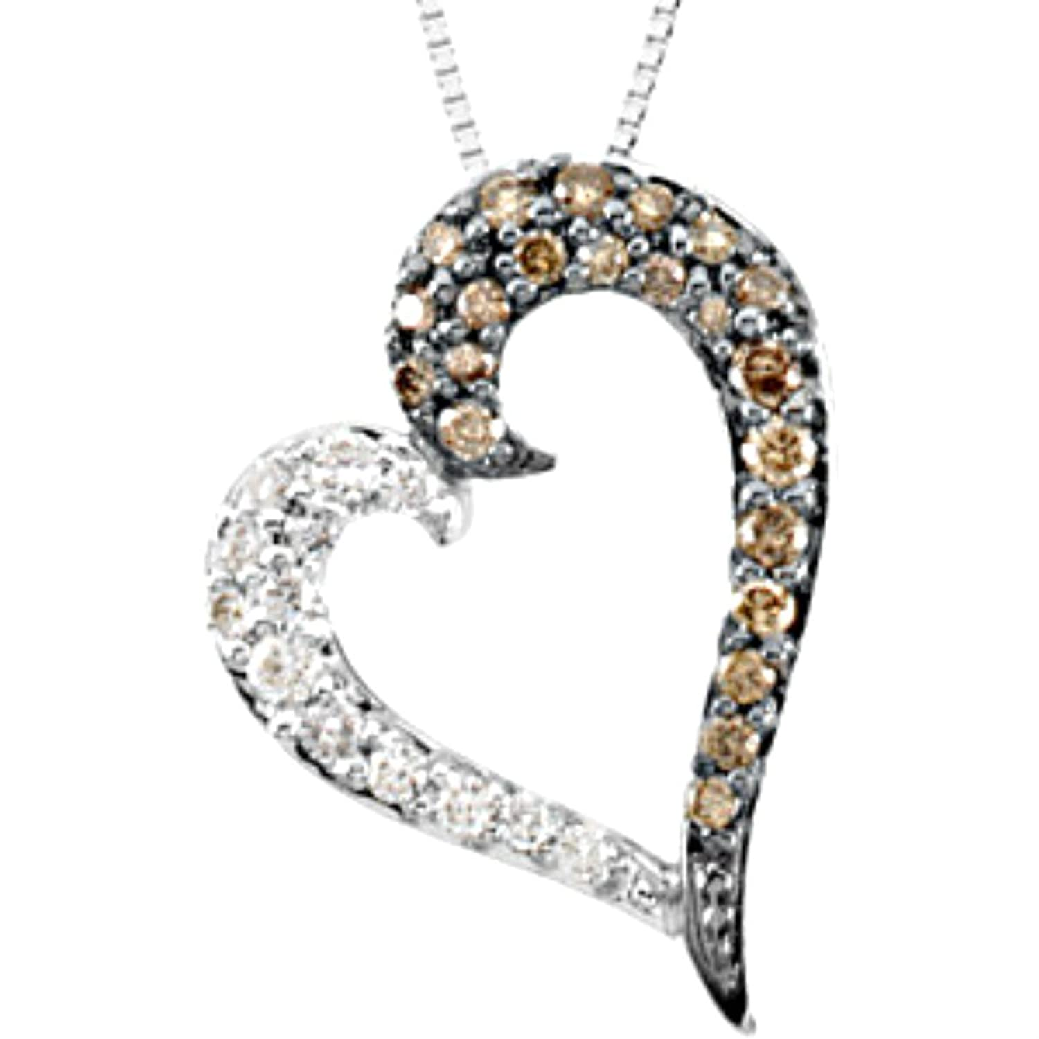 levian necklace vian natural le in chocolate diamonds white and rose fire tw gold opal with diamond