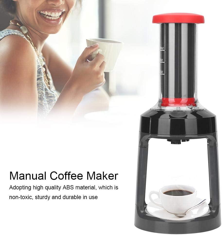 Cafetera, cafetera de cápsula manual portátil Máquina de café de ...