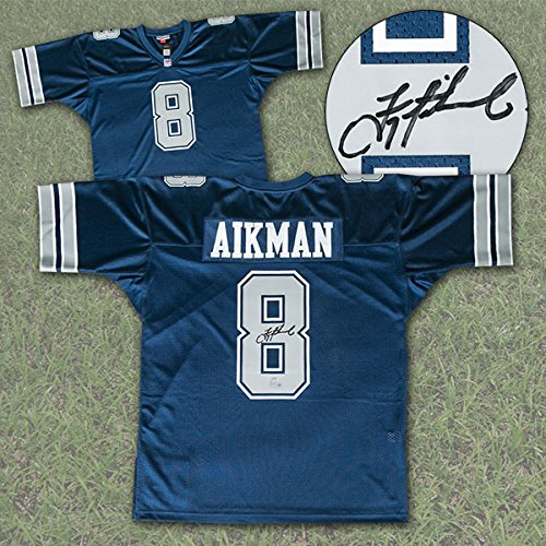 Troy Aikman Dallas Cowboys Autographed Mitchell & Ness Jersey - Steiner COA - Troy Aikman Autographed Jersey
