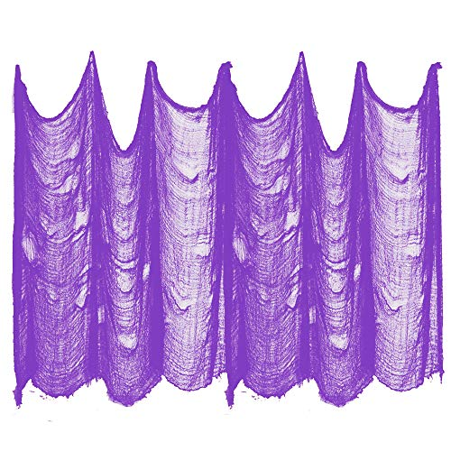 (BenRan Halloween Creepy Cloth Party Decor Drape Doorways Entryways Windows Cover Gauze 5 Yards X 30