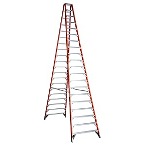 Werner (T7420) Twin Step Ladder, Fiberglass