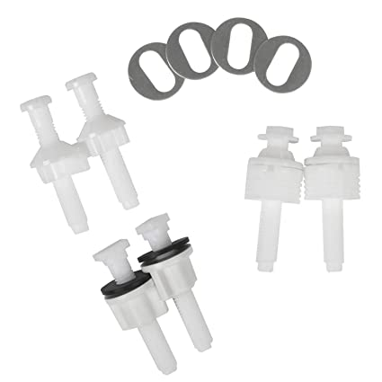 Astounding Universal Toilet Seat Hinge Bolt Screw For Top Mount Toilet Seat Hinges Downlock Nuts Can Slip Over Bolts Threads For Rapid Installation Without Inzonedesignstudio Interior Chair Design Inzonedesignstudiocom