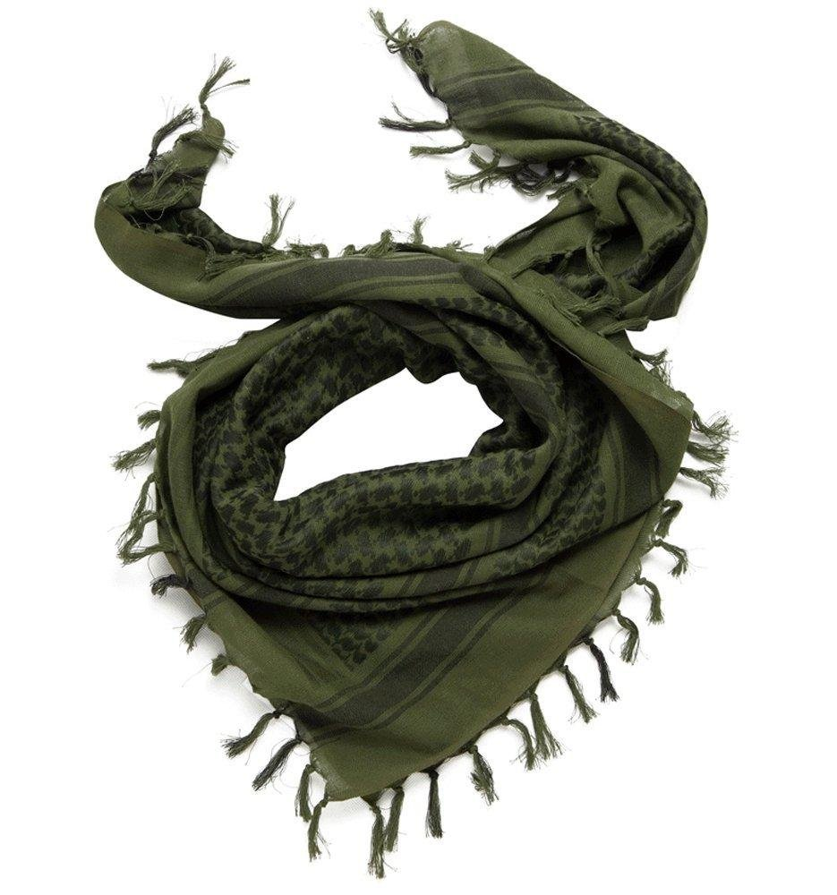 Shemagh Tactical Scarf 8 in 1 Large Thick Military Desert Keffiyeh Head Neck Arabe Scarf by Wildoor (Image #3)
