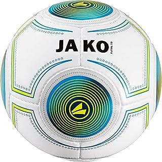 Jako Futsal 3.0Indoor Ballon de Football Blanc/Bleu/Vert Lime, 4 JAKO6|#JAKO 2338