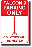PosterEnvy Falcon 9 Parking Only - New Humor Poster