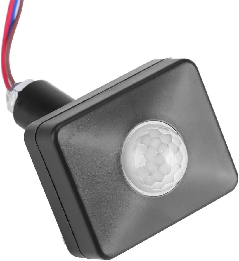 Detector de Movimiento por Infrarrojos Sensores PIR IP65 Interruptor de pavimento de Pared Impermeable para Montaje en Techo. Sensor de Movimiento