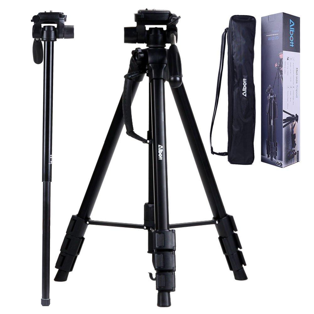 Albott® Trípode completo pulgadas DSLR profesional de la cámara Aluminio Monopod del