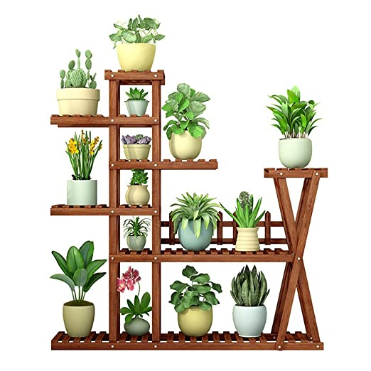 Blumenregal Soporte para estantes de exhibición de macetas de ...