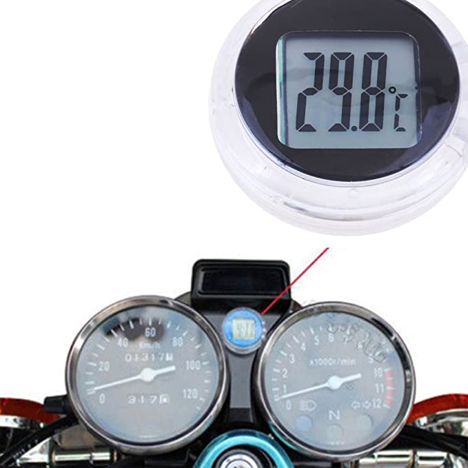 Mini 58mm Car Thermometer Mechanical Analog Temperature Gauge with Paste Sticker