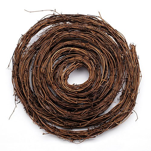 Darice 12in Twig Garland - 15ft Christmas Decoration (Large Image)