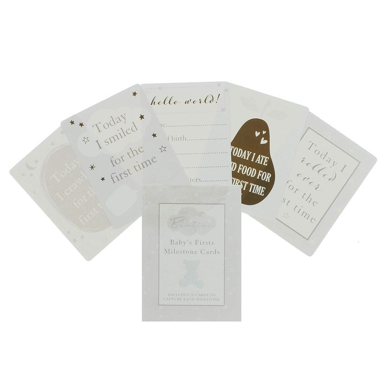 Baby s First Milestone Karten 30/Karten Bambino Collection New Baby Geschenk