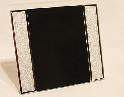 22a314975f6e0 New Large Swarovski Crystal Filled Picture Photo Frame: Amazon.co.uk ...