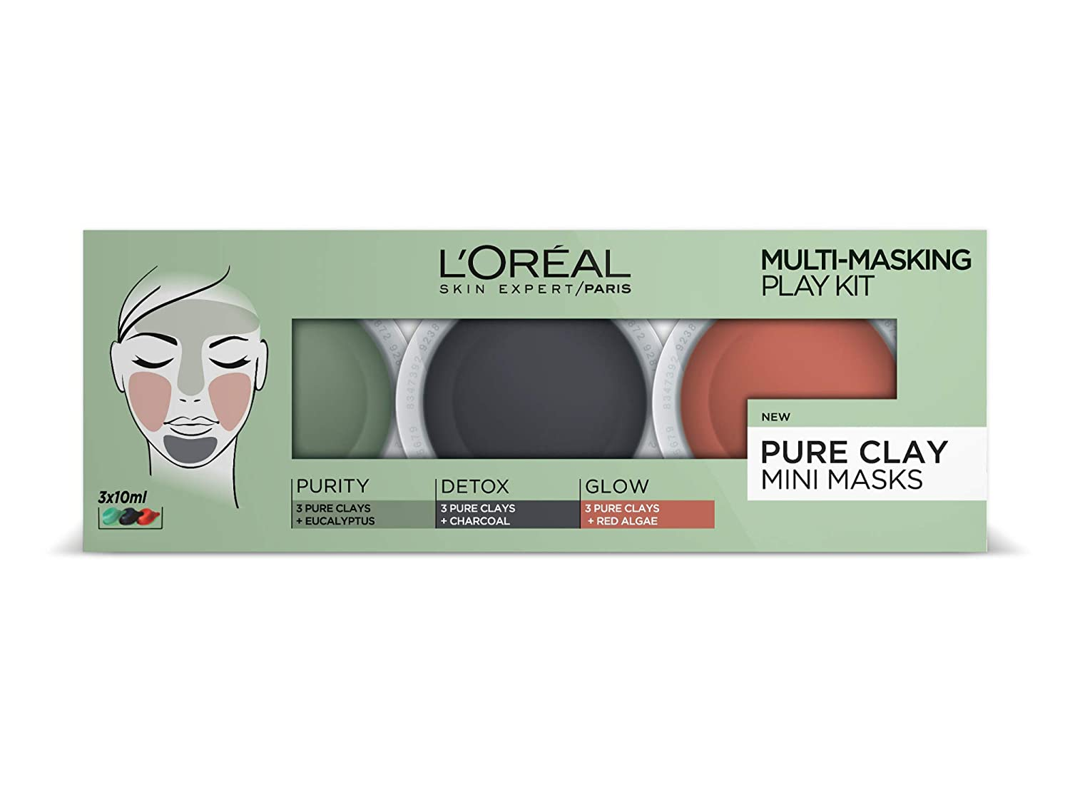 L'Oreal Paris Pure Clay Multi Masking Play Kit