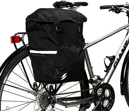 Sahoo - Bolsa para Maletero de Bicicleta (Impermeable, 15 L, para ...