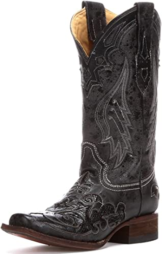 Corral Boots Ladies A2402,6.5 Black