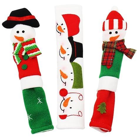 Amazon.com: yeahbeer muñeco de nieve Navidad decoraciones ...