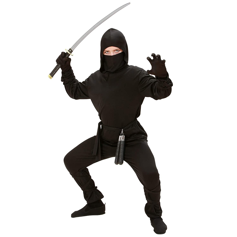 Amazon.com: Childrens Ninja Costume Small 5-7 Yrs (128cm ...