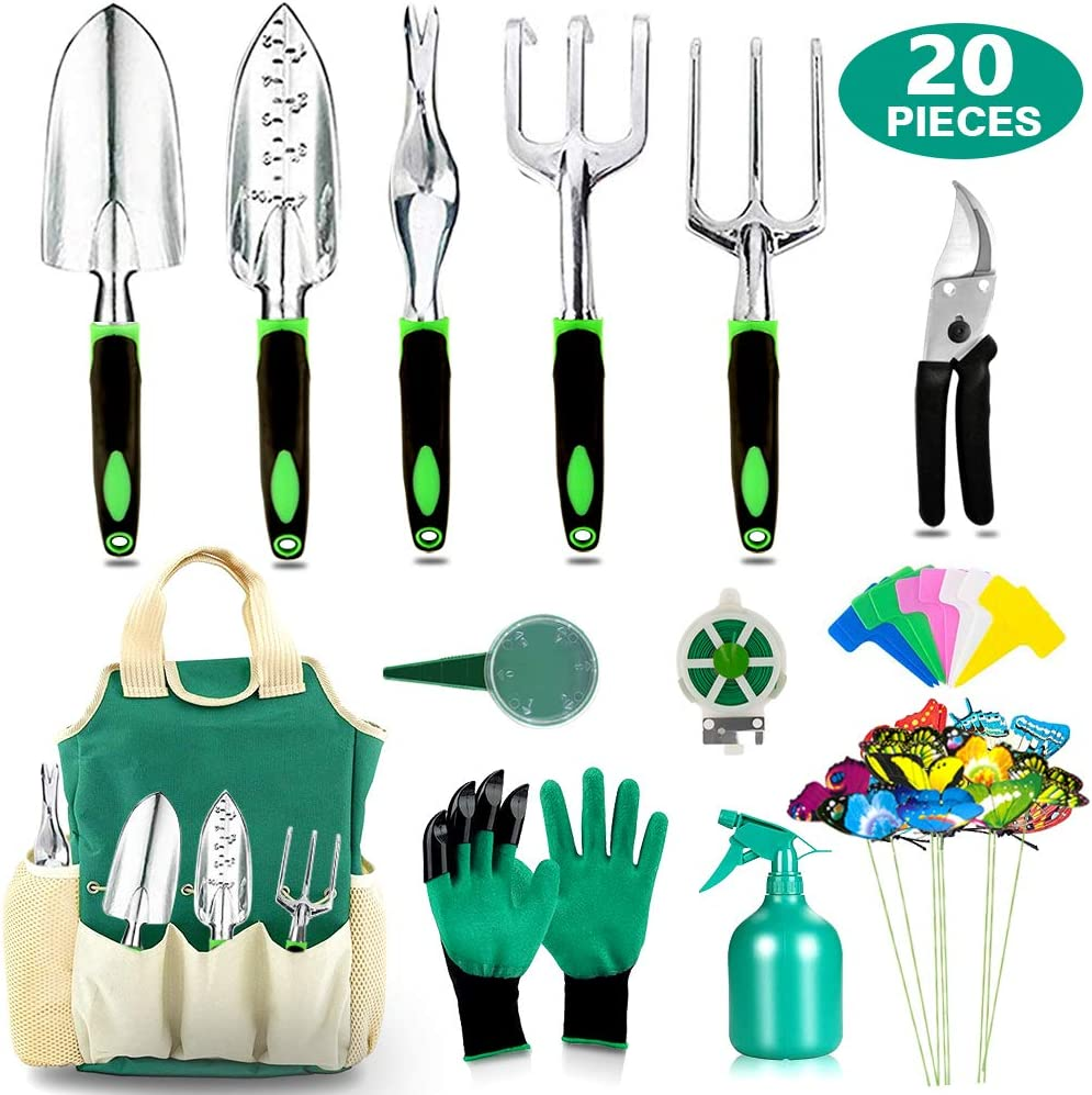 Gardening tool set for your first garden