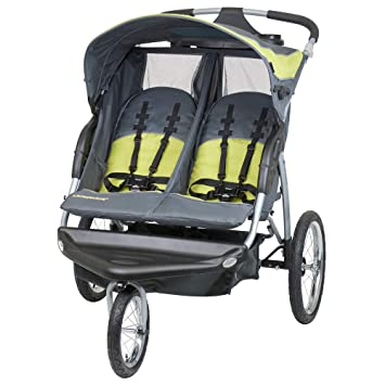 e802c238b58b8 Amazon.com : Baby Trend Expedition Double Jogger Stroller, Carbon : Jogging  Strollers : Baby