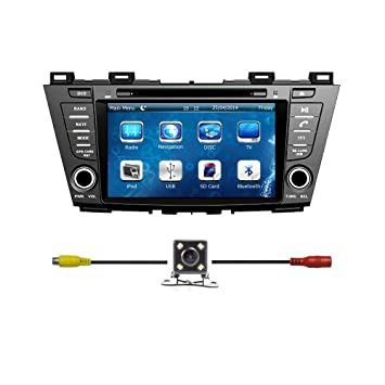 ee1cc910ddb Bluelotus reg  MAZDA 5 2012 2013 2014 Double Din In-dash 8 Inch Touch Screen