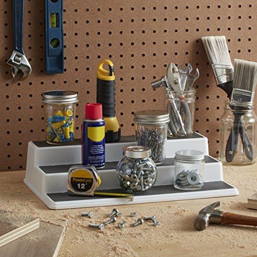 Copco Non-Skid 3-Tier Cabinet Organizer, 10-Inch