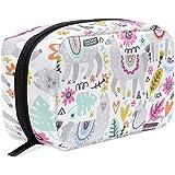 Llama Travel Makeup Case Toiletries Bag Portable Beauty Girl Women Cosmetic Organizer Bags Storage Bags for Travel