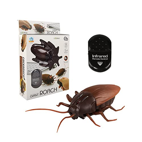 remote control fake cockroach rc prank toys insects joke trick bugs for kids gift and halloween