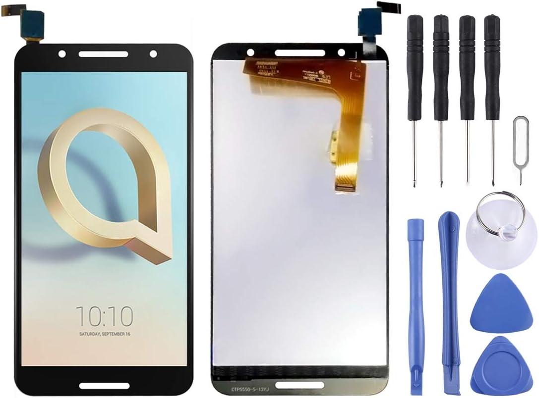 Cellphone Replacement Parts Repuestos para celulares Pantalla LCD y Conjunto Completo de digitalizador para Alcatel A7 / 5090 / 5090Y / 5090A Repuestos para celulares: Amazon.es: Electrónica