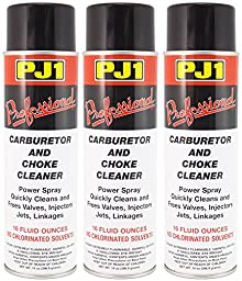 PJ1 40-1-3PK Pro Carb and Choke Cleaner, 48 oz, 3 Pack