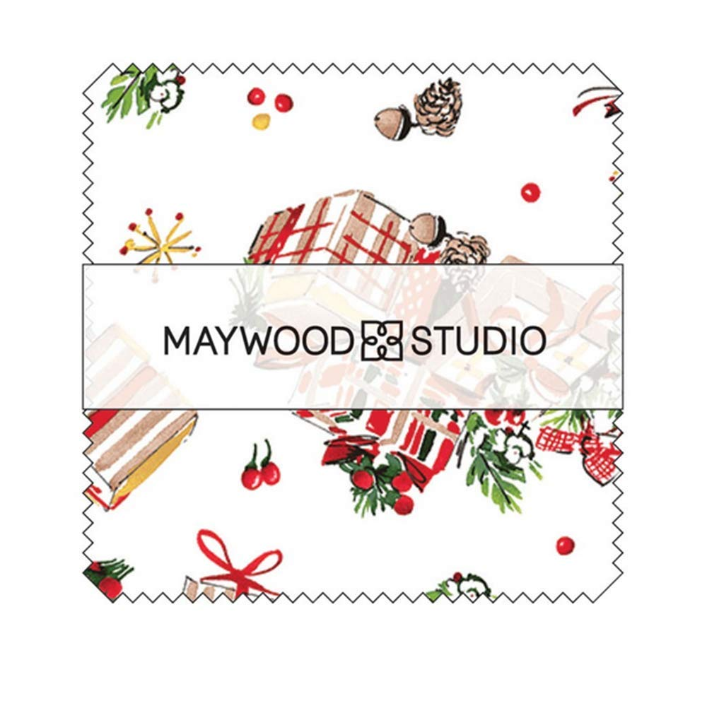 All The Trimmings Charm Pack 42 5-inch Squares Maywood Studio