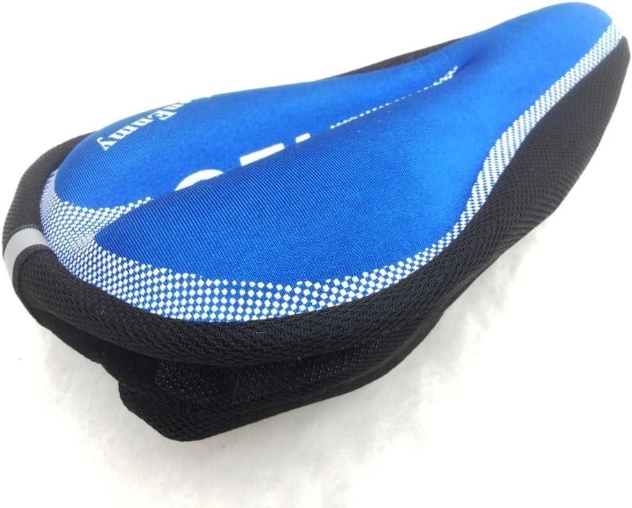 CARBONENMY Funda de sill/ín acolchada para bicicleta protector 200 g almohadilla 28 x 18 cm