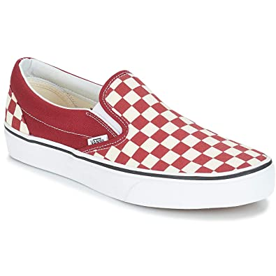 384fc105 Vans VN0A38F7VLW UA Classic Slip-On (Checkerboard)/(Check 11.5 Men's Shoes