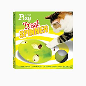 Catit Cat Play Treat Spinner, Interactive Cat Toys