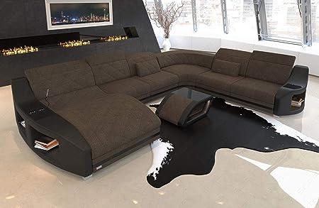 Xxl Wohnlandschaft Sofa Couch Swing Mit Becherhalter Und Usb