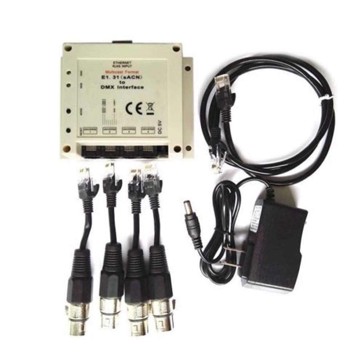 Chamsys Magicq E1.31(csn)Dmx /ブリッジインターフェースに対応4 Dmx 512の出力ユニバースを2048 Dmxチャンネルに対応   B07VB2P1NR