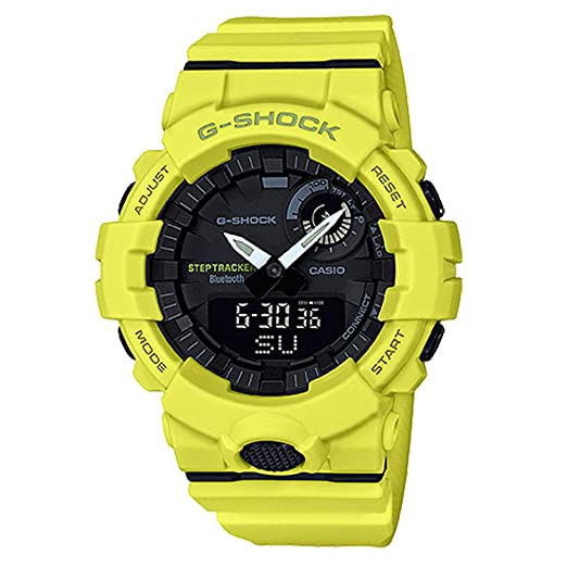 G-Shock Mens GBA800-9A Yellow One Size
