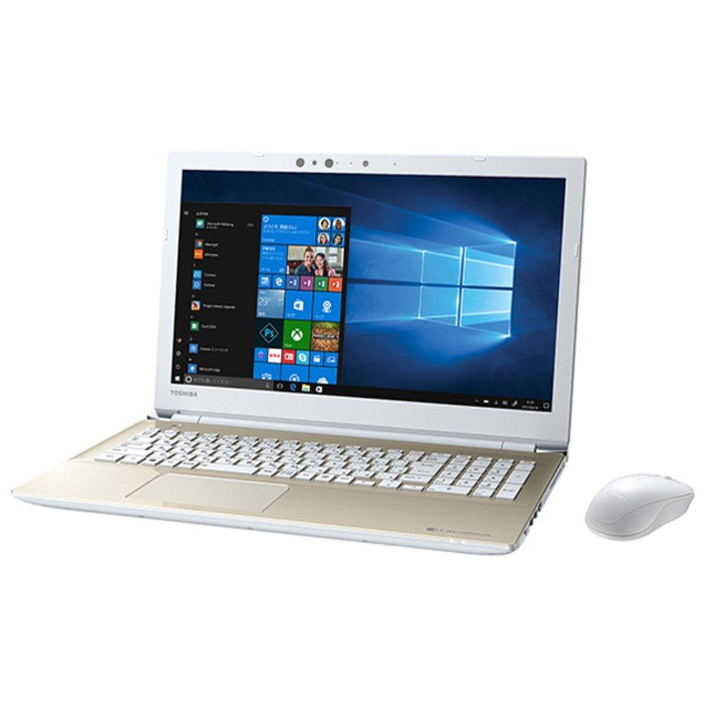 東芝 ノートパソコン dynabook サテンゴールド PT55GGP-BEA2   B07C7Y2522